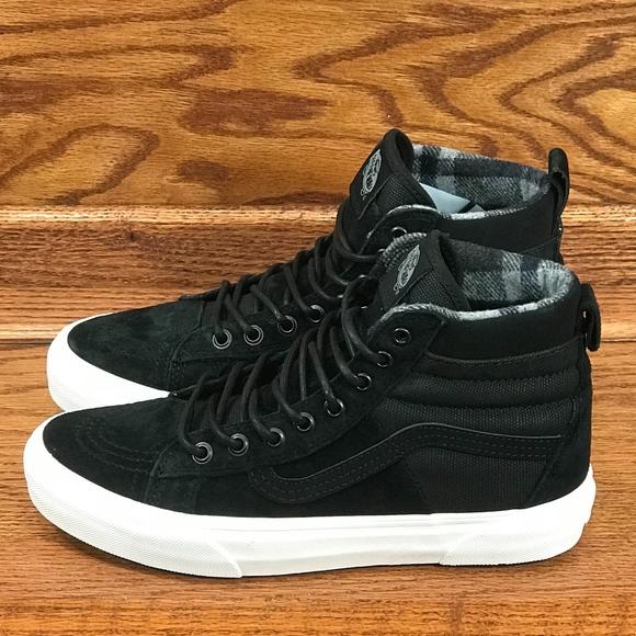 635235afce Vans Sk8 Hi 46 MTE DX Black Flannel Shoes